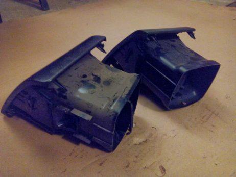 Воздуховод на торпеде боковой A6388310960, A6388310660, A6388311160, A6388313960