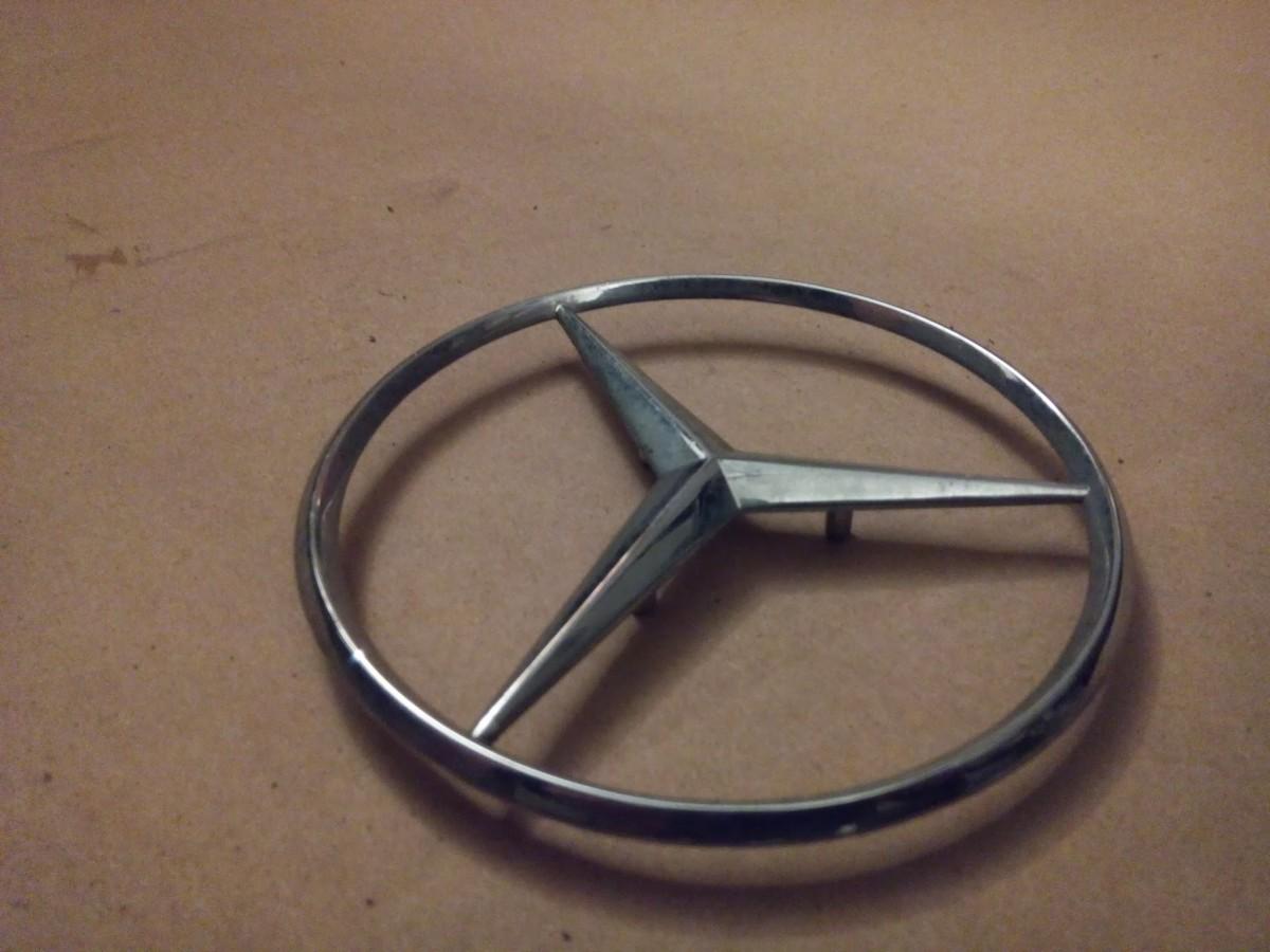 Как сделать значок мерседес своими руками. бортжурнал Mercedes-Benz