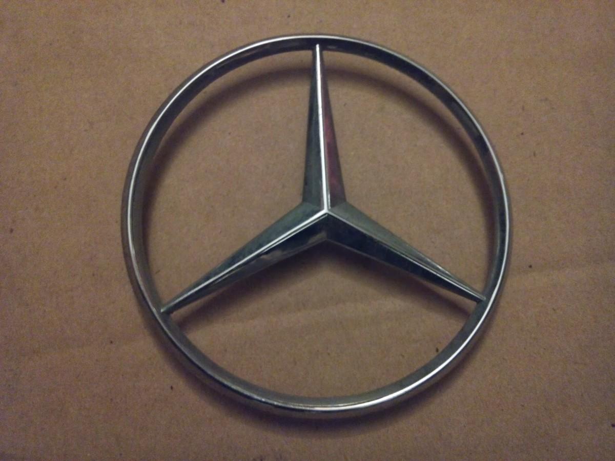 Как сделать значок мерседес своими руками. бортжурнал Mercedes-Benz 77