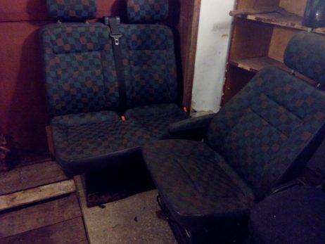 Сиденье правое двойное перед ткань A6389101203, A6389101903