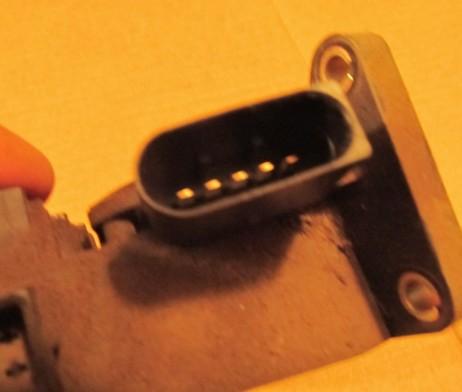 Педаль газа электронная (Комплект педали управления подачей топлива, акселератор) A9013000404, 0281002335