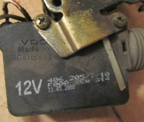Замок двери левый/правый передние двери электрический A6387200435