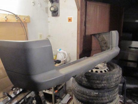 Бампер задний Vito W638 под ляду A6388800171