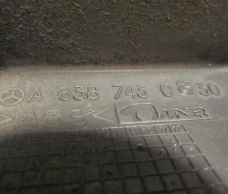 Панель подсветки номера ляды (пзанка задней двери) A6387430830