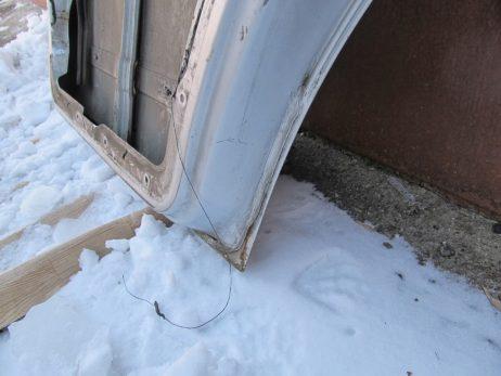 Дверь передняя левая/правая A6387201105, A6387201005