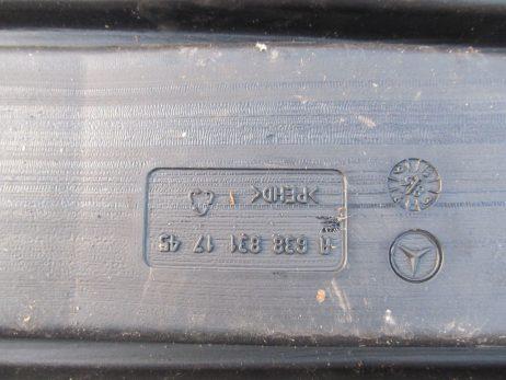 Воздуховод салона Mercedes-Benz (Westfalia) на VITO W638