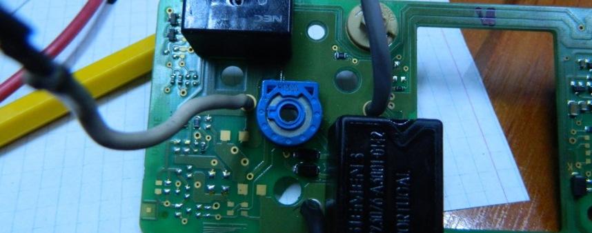 Блок управления отопителем. Регулятор температуры