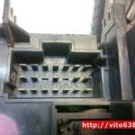 Блок управления печкой Вито 638 2.2