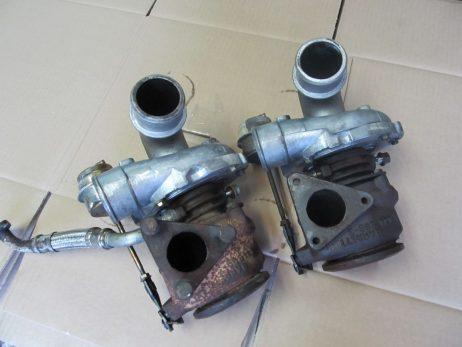 Турбина 2.2 CDI 638 A6110967099