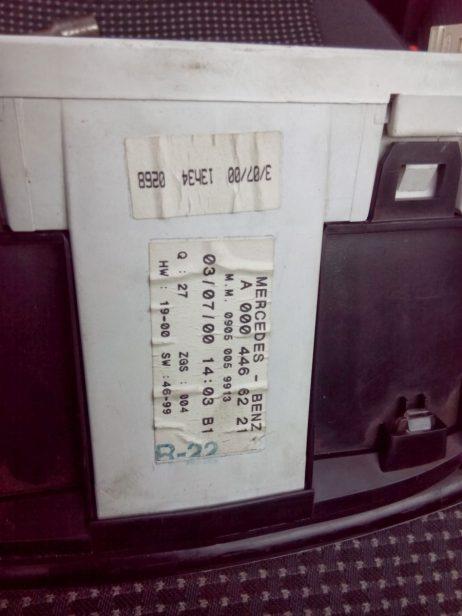 Панель приборов Vito 99- CDI A0004466221