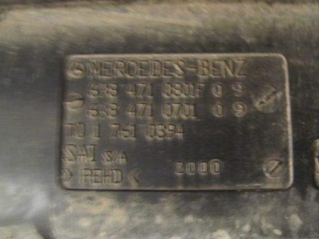 Топливный бак MERCEDES-BENZ Vito 638