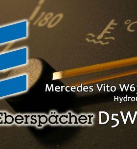 Прогрев мотора Vito автономка D5WZ (Eberspacher Hydronic)
