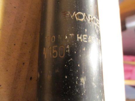 Амортизатор задний A6383260700